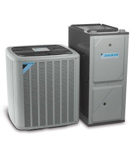 Residential air conditioning and heating systems in Orange County by Thomson AC and Daikin.